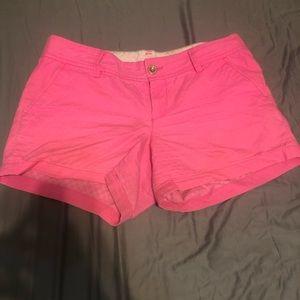 Lilly Pulitzer Callahan Shorts in Bright pink